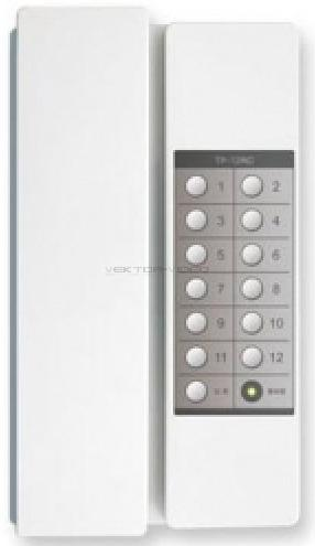"""TP-12RC COMMAX Переговорное устройство с телефоной трубкой """"TP-12RC"""""""