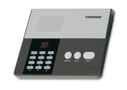 """CM-810M COMMAX Пульт связи до 10 абонентов """"CM-810M"""""""