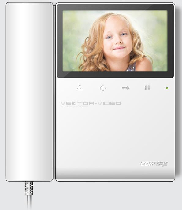 видеодомофоны commax cdv
